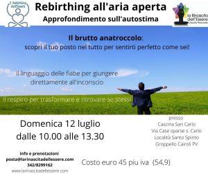 Corso di  AUTOSTIMA e Rebirthing dell'Essere all'aperto @ Cascina San Carlo | Pieve Emanuele | Lombardia | Italia